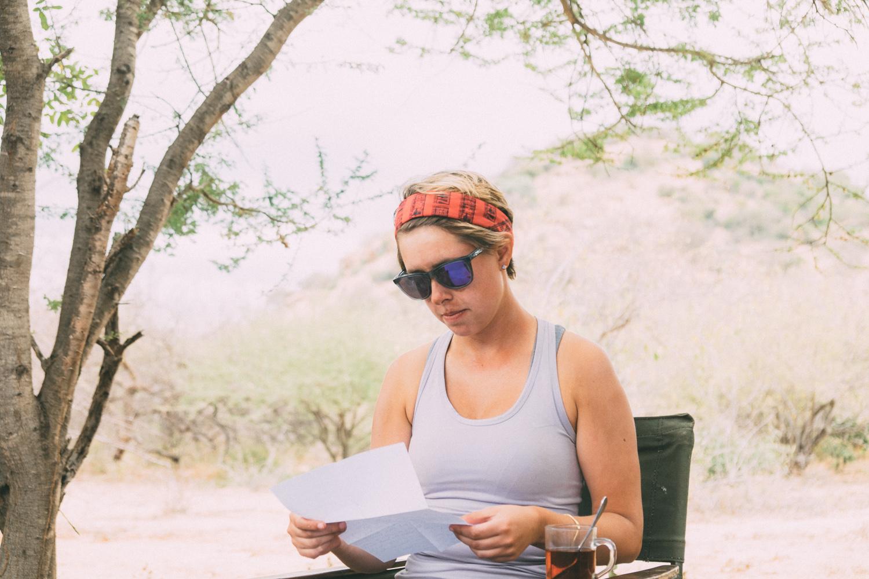 Charlotte Reading Letter