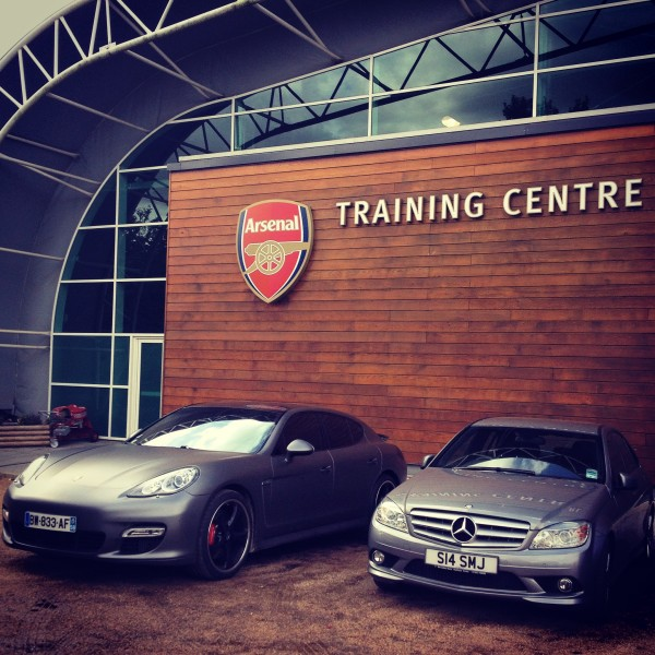Arsenal Training Centre - where QUALITY is a part of their DNA