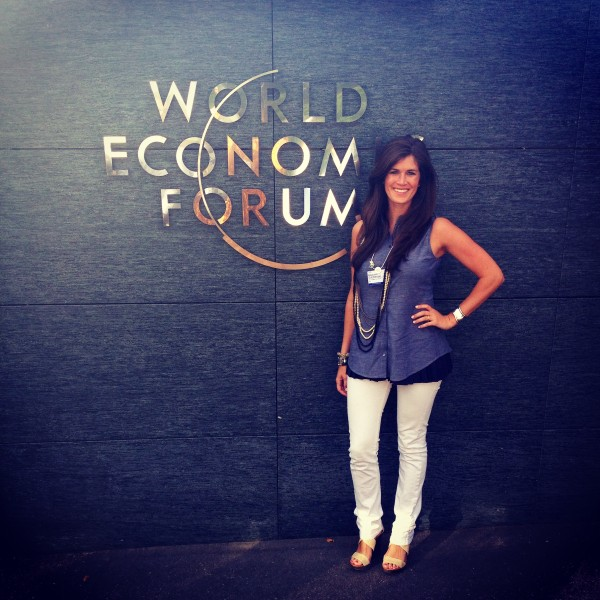 At the Global Headquarters for The World Economic Forum, Geneva, Switzerland