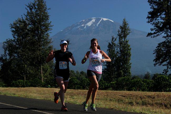 Kili Marathon 2013 Pic