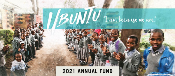 Annual Fund 2021 cover and header